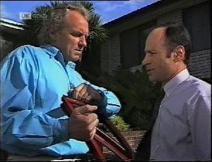 Jim Robinson, Benito Alessi in Neighbours Episode 1896