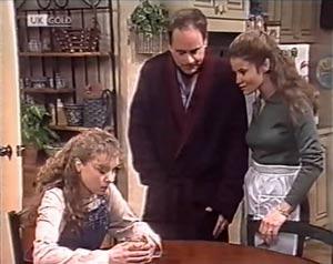 Debbie Martin, Philip Martin, Julie Robinson in Neighbours Episode 2020
