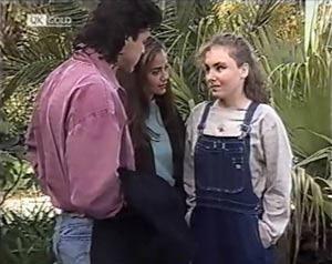 Wayne Duncan, Beth Brennan, Debbie Martin in Neighbours Episode 2020