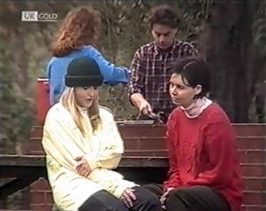 Lauren Carpenter, Jacob Collins, Ruth Avery in Neighbours Episode 2020