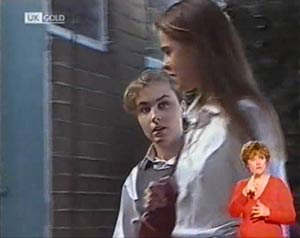Debbie Martin, Ally Slater in Neighbours Episode 2021