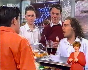 Rick Alessi, Craig Slater in Neighbours Episode 2021