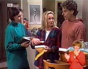 Ruth Avery, Jacob Collins, Lauren Turner in Neighbours Episode 2022