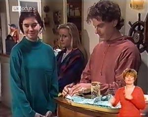 Ruth Avery, Lauren Turner, Jacob Collins in Neighbours Episode 2022
