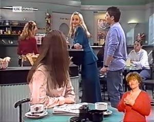 Beth Brennan, Annalise Hartman, Mark Gottlieb in Neighbours Episode 2023