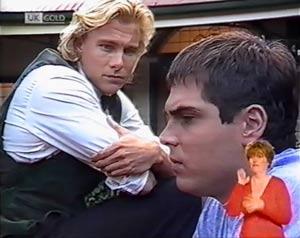 Brad Willis, Mark Gottlieb in Neighbours Episode 2023