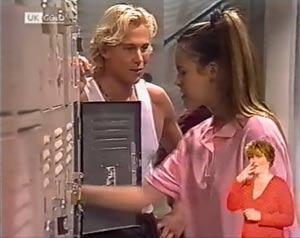 Brad Willis, Ally Slater in Neighbours Episode 2024