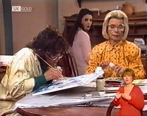Pam Willis, Gaby Willis, Helen Daniels in Neighbours Episode 2024