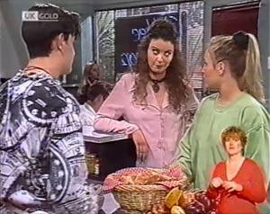 Lauren Turner, Rick Alessi, Gaby Willis in Neighbours Episode 2024