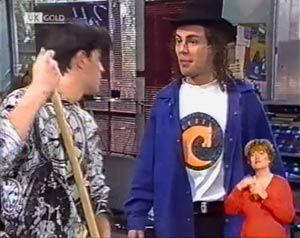 Rick Alessi, Craig Slater in Neighbours Episode 2024