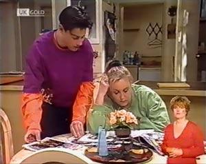 Rick Alessi, Lauren Turner in Neighbours Episode 2024