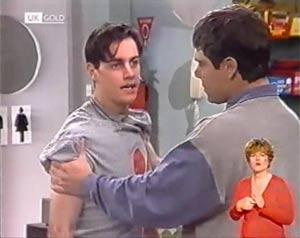 Rick Alessi, Mark Gottlieb in Neighbours Episode 2025