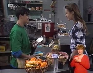 Rick Alessi, Ally Slater in Neighbours Episode 2027