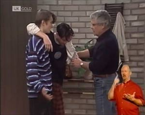 Sean Slater, Rick Alessi, Lou Carpenter in Neighbours Episode 2033