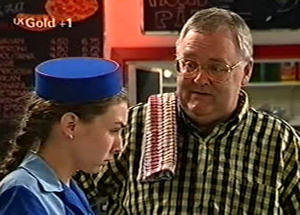 Debbie Martin, Harold Bishop in Neighbours Episode 2919