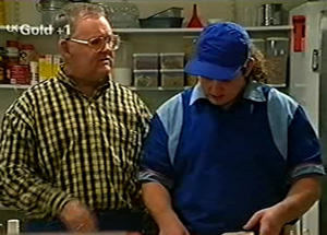 Harold Bishop, Toadie Rebecchi in Neighbours Episode 2919