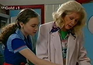 Debbie Martin, Madge Bishop in Neighbours Episode 2921