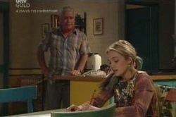 Lou Carpenter, Sky Mangel in Neighbours Episode 4582