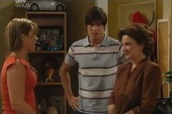 Steph Scully, Jack Scully, Lyn Scully in Neighbours Episode 4583