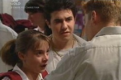 Summer Hoyland, Stingray Timmins, Boyd Hoyland in Neighbours Episode 4584