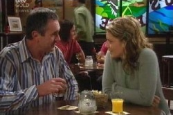 Izzy Hoyland, Karl Kennedy in Neighbours Episode 4584