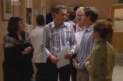 Svetlanka Ristic, Karl Kennedy, Harold Bishop, David Bishop, Serena Bishop in Neighbours Episode 4585