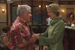 Lou Carpenter, Carol Mitchell in Neighbours Episode 4585