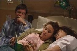 David Bishop, Serena Bishop, Liljana Bishop in Neighbours Episode 4585