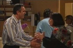 Karl Kennedy, Svetlanka Ristic in Neighbours Episode 4586