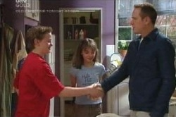 Caleb Wilson, Summer Hoyland, Max Hoyland in Neighbours Episode 4587