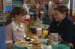 Summer Hoyland, Caleb Wilson in Neighbours Episode 4587