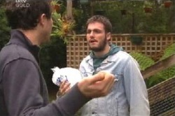 Travis Dean, Steve Smart in Neighbours Episode 4591