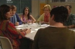 Susan Kennedy, Libby Kennedy, Andrea Jeffries in Neighbours Episode 4591