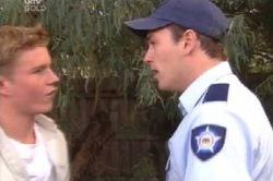 Boyd Hoyland, Stuart Parker in Neighbours Episode 4592