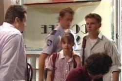 Stuart Parker, Toadie Rebecchi, Summer Hoyland, Boyd Hoyland in Neighbours Episode 4592