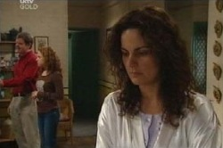Liljana Bishop, David Bishop, Serena Bishop in Neighbours Episode 4593