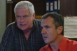 Lou Carpenter, Karl Kennedy in Neighbours Episode 4593