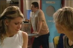 Izzy Hoyland, Toadie Rebecchi, Sindi Watts in Neighbours Episode 4595