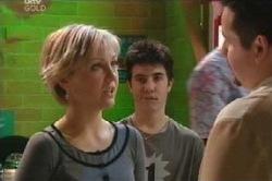 Sindi Watts, Stingray Timmins, Toadie Rebecchi in Neighbours Episode 4595