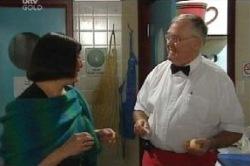 Svetlanka Ristic, Harold Bishop in Neighbours Episode 4599