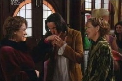 Lyn Scully, Alessandro Cortes, Susan Kennedy in Neighbours Episode 4600