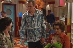 Jack Scully, Max Hoyland, Oscar Scully, Lyn Scully in Neighbours Episode 4603