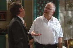 Harold Bishop, David Bishop in Neighbours Episode 4603
