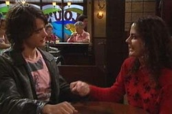 Luka Dokic, Liljana Bishop in Neighbours Episode 4603