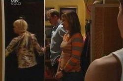 Sky Mangel, Max Hoyland, Steph Scully, Boyd Hoyland in Neighbours Episode 4604