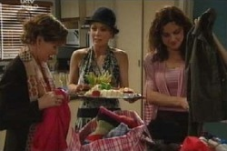 Izzy Hoyland, Liljana Bishop, Susan Kennedy in Neighbours Episode 4612