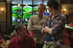 Karl Kennedy, Max Hoyland, Jack Scully in Neighbours Episode 4613
