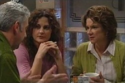 Gino Esposito, Liljana Bishop, Lyn Scully in Neighbours Episode 4613