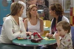 Steph Scully, Izzy Hoyland, Susan Kennedy, Ben Kirk in Neighbours Episode 4619