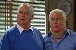 Harold Bishop, Lou Carpenter in Neighbours Episode 4619